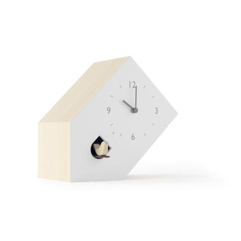 Lemnos Tilt Cuckoo Clock designed by Nendo