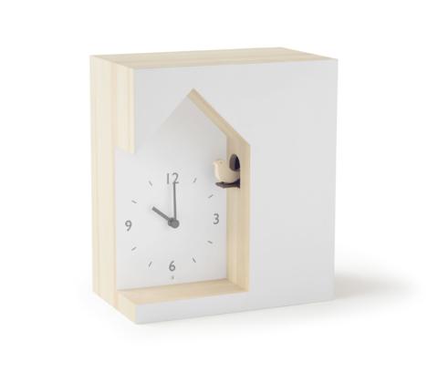 Lemnos Dent Cuckoo Clock designed by Nendo