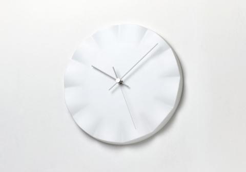 Lemnos Kifuku Procelain Clock designed by Noriko Hashida